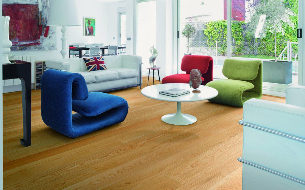 Woodco | Calore e colore: il pavimento in legno in rovere ...
