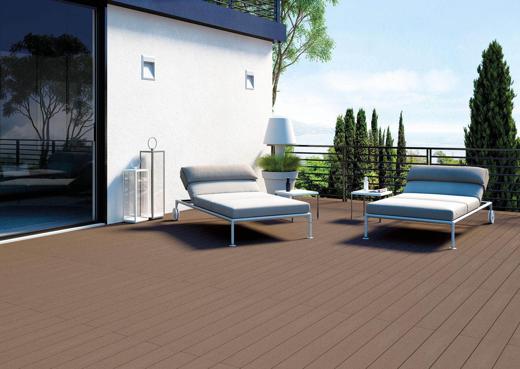 Pavimenti Per Terrazzi Esterni pavimenti per esterni: la nuova soluzione bpc - woodco