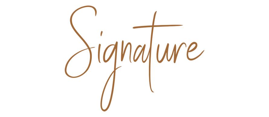 Signature collezione cover