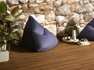 Pavimento in legno per esterno: patio