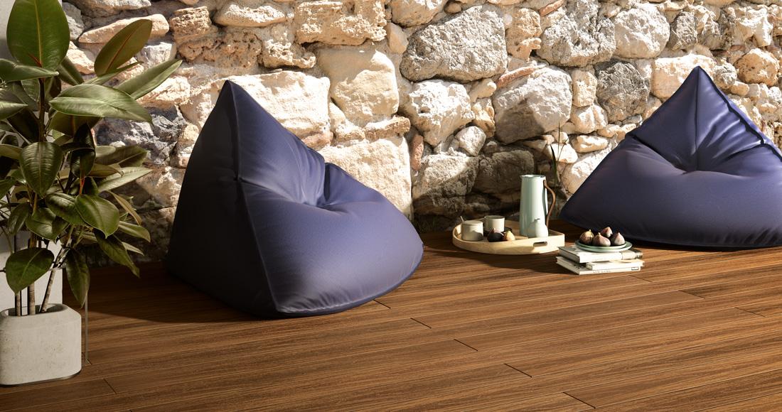 Pavimento in legno per esterno terrazzo